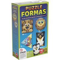 Quebra Cabeça Cartonado Puzzle Formas Basicas