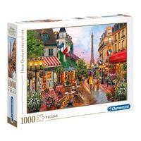 Puzzle 1000 Peças Primavera Em Paris - Clementoni - Imp