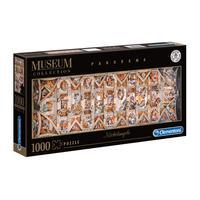 Puzzle 1000 Peças Panorama Michelangelo - Clementoni - Imp