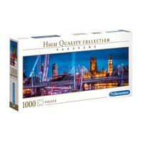 Puzzle 1000 Peças Panorama Londres - Clementoni - Importado