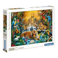 Puzzle 1000 Peças Selva Mística - Clementoni - Importado