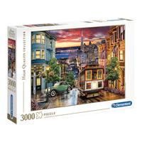 Puzzle 3000 Peças São Francisco - Clementoni - Importado