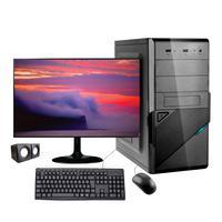 Computador Desktop Corporate I3 Geração 10 8gb Ddr4 Hd 500gb Kitmultimidia Monitor 19,5 Windows 10