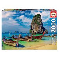 Puzzle 2000 Peças Krabi, Tailândia - Educa - Importado