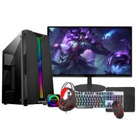 """PC Gamer Completo Fácil, Intel I5 Terceira Geração, 16GB, GT 420 4GB, SSD 240GB, Monitor 19"""""""