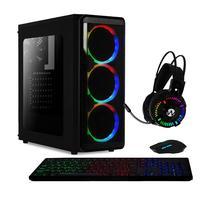 Computador Gamer Skill  Amd 6-core, 8gb, Ssd 60gb, Hd 2tb ,kit Gamer, Radeon R5 2gb - 40455
