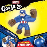 Goo Jit Zu-pack 1 Figura - Capitão América- Sunny